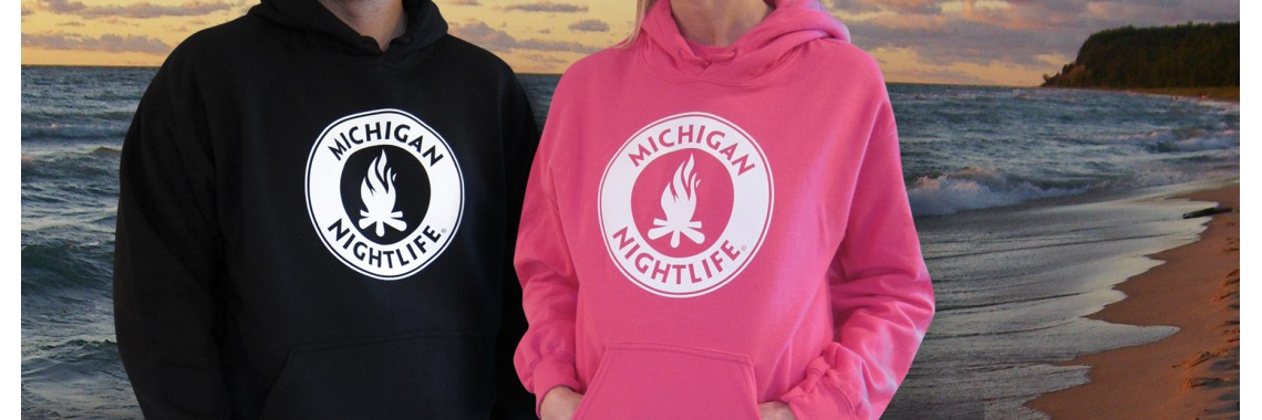 Michigan Nightlife Hoodies