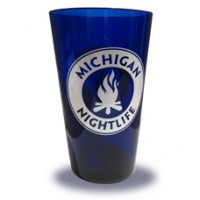 MI Nightlife Pint Glass